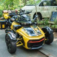 カナダ・ボンバルディア製の3輪バイクで日本一周中!