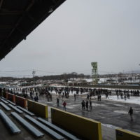 新年恒例の「ばんえい競馬」観戦ツアー。