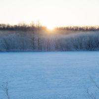 今日の霧氷ツアー・・今季最低のマイナス26℃を記録。