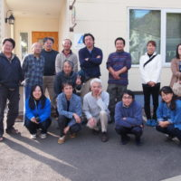 """紅葉色づく""""ぬかびら源泉郷""""で「道東旅人宿の会」の総会でした。"""