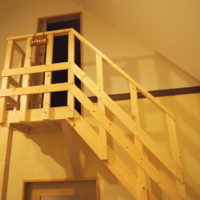 カンタベリー5番目の客室(森のエゾリス舎2階)は・・「エゾモモンガ」